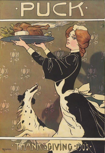 Thanksgiving 2020 - 18 in a series - Puck Magazine Thanksgiving 1905 by Carl Hassmann (1905)