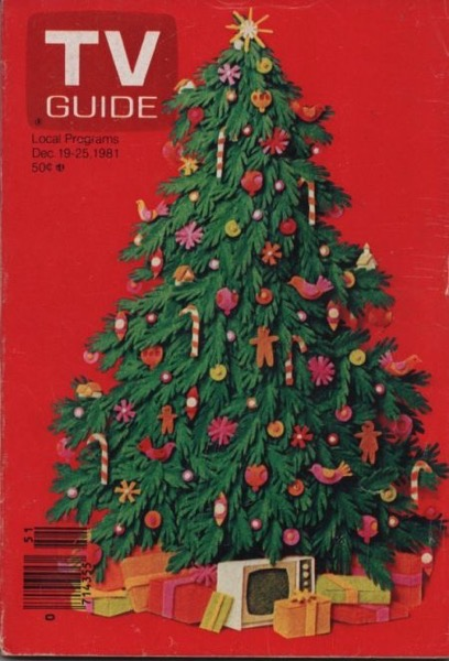 Christmas 2020 - 27 in a series -  TV Guide Christmas Issue 1981