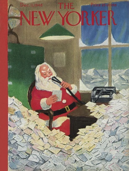 Christmas 2020 - 10 in a series - The New Yorker December 11, 1948 Issue