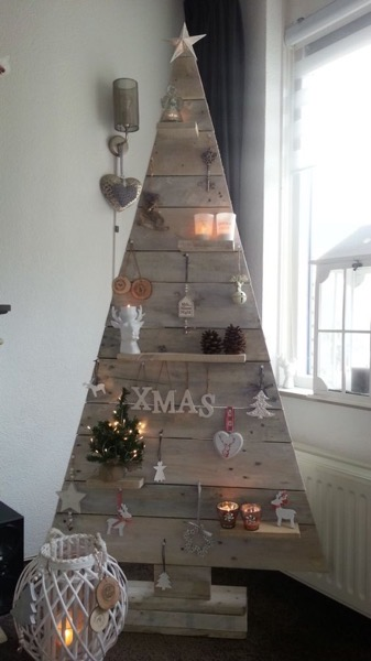 Christmas 2020 -6 in a series - Antique Wood Christmas Tree