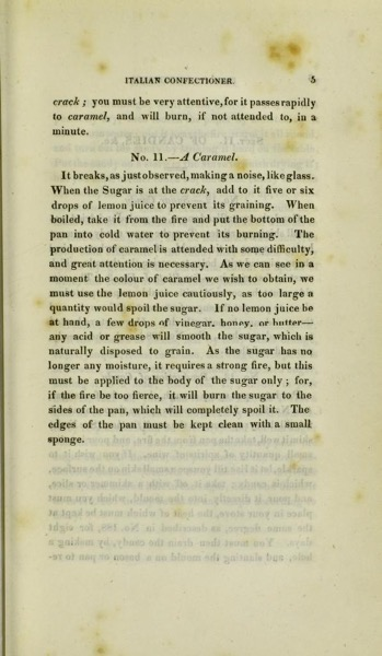 Historical Cooking Books - 80 in a series - The Italian confectioner (1823)