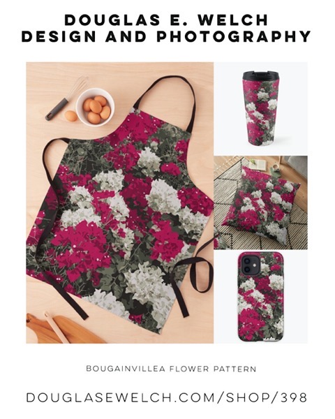 New Design: Bougainvillea Flower Pattern [For Sale]