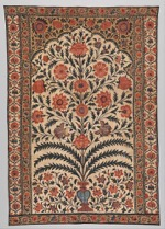 Vintage Panel from a Tent Lining, India 1725–50