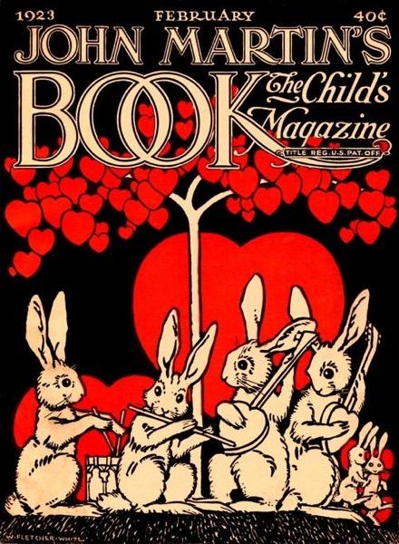 Valentine's 2021 - 5 in a series - John Martin's Valentine's Cover Book (1923)