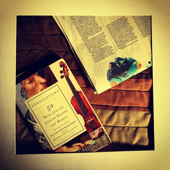 Reading Still Life - One Square Foot - 21 in a series via Instagram