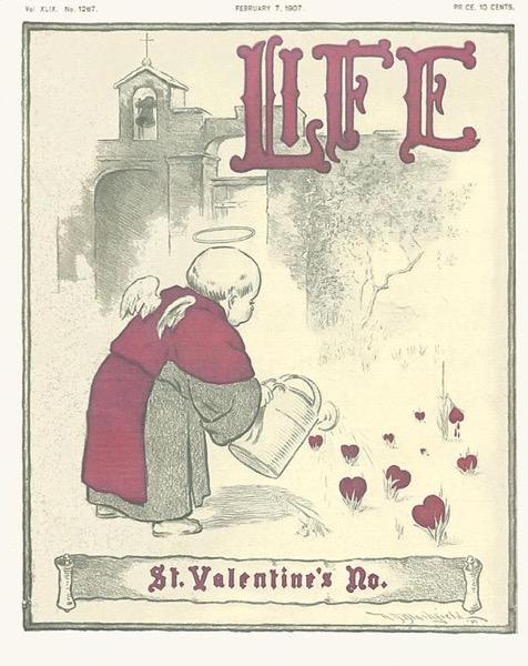 Valentine's 2021 - 2 in a series - Life Magazine Valentine's Cover (1907)