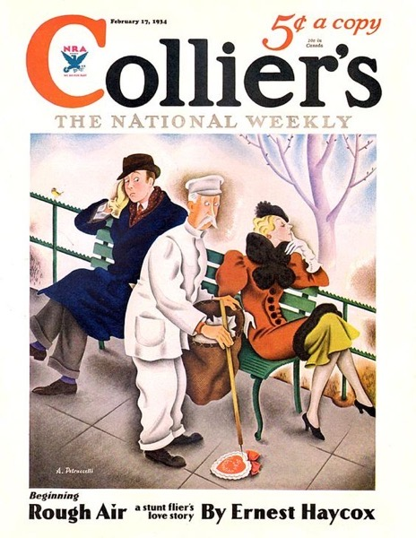 Valentine's 2021 – 7 in a series – Colliers Magazine Valentine's Cover (1934)