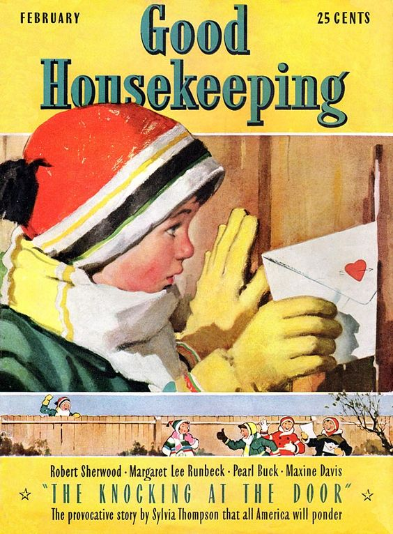 Valentine's 2021 – 12 in a series – Good Housekeeping Magazine Cover (1939)