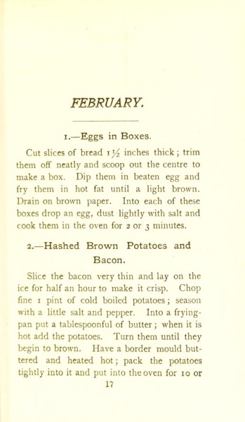 Historical Cooking Books - 87 in a series - 365 Breakfast Dishes: A Breakfast Dish For Every Day In The Year (1906)