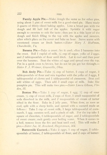 Historical Cooking Books - 88 in a series - The Inglenook cook book (1911) Recipes