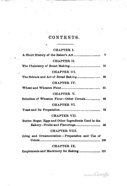 Historical Cooking Books - 91 in a series - The complete bread, cake and cracker baker (1881) by J. Thompson Gill Table of Contents