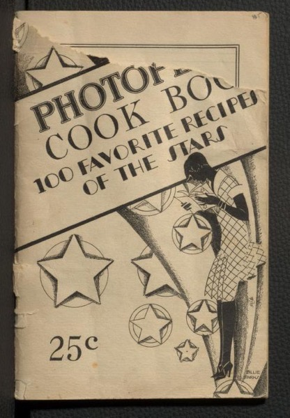 Historical Cooking Books - 94 in a series - Photoplay's cook book : 100 favorite recipes of the stars (1927) by Carolyn Van Wyck