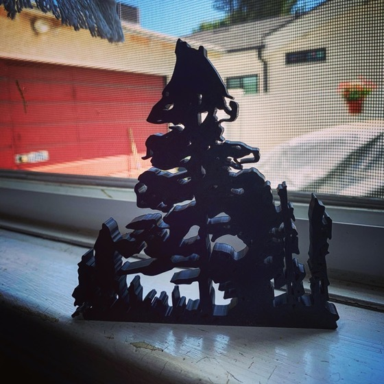 Pine Tree - 3D Print from my drawing