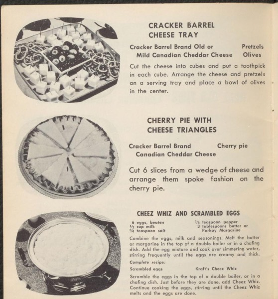 Historical Cooking Books - 95 in a series - Kraft television recipes for 1955