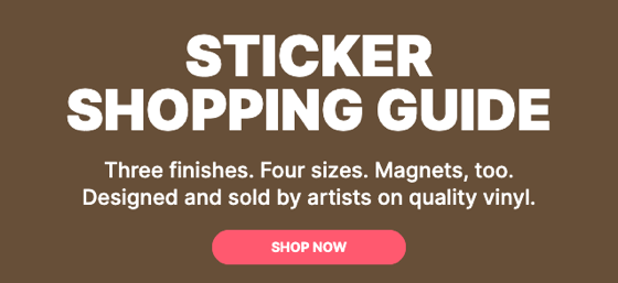 The ultimate sticker guide from Douglas E. Welch Design and Photography