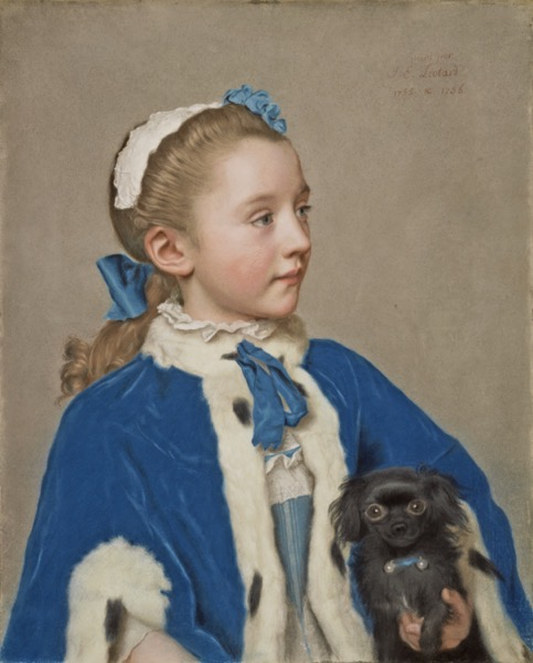 From The Collection Of... - 1 in a series - Portrait of Maria Frederike van Reede-Athlone at Seven Years of Age via The Getty
