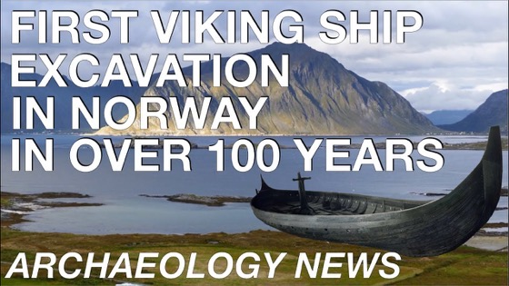 First Viking Ship Excavation in Norway in 100 years // Gjellestad Boat Burial via Pete Kelly on YouTube [Video] [Shared]