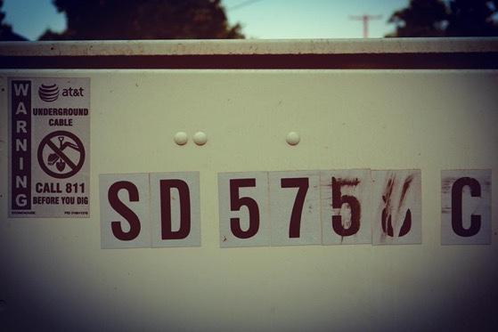 SD575x C – 5 in a series – Numbers via Instagram