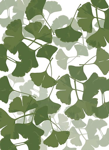 NEW DESIGN: Ginkgo Leaf Pattern Products from Douglas E. Welch Design and Photography [Shopping & Gifts]