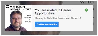 Career op community