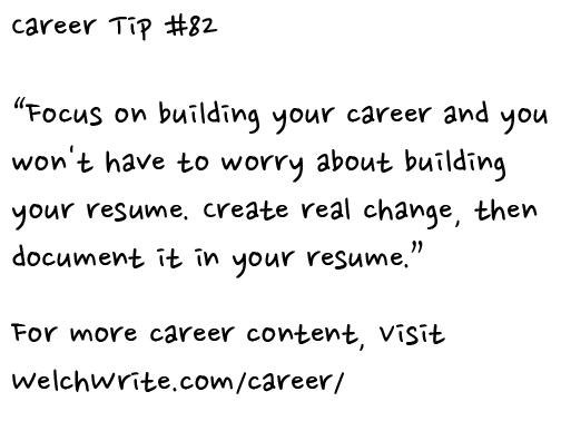 Career tip 082