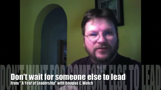 Leadership someone else