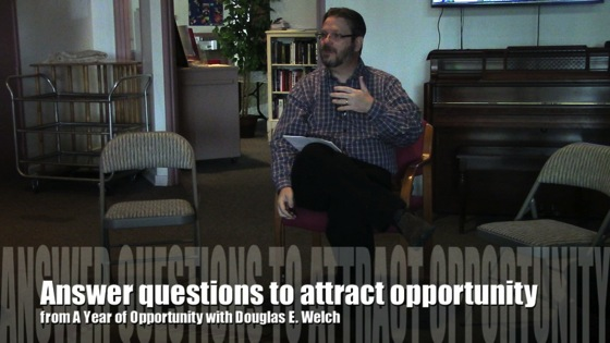 Opportunity questions