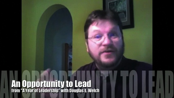 An Opportunity to Lead from