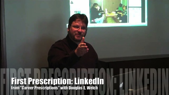 Video: First Career Prescription: LinkedIn from