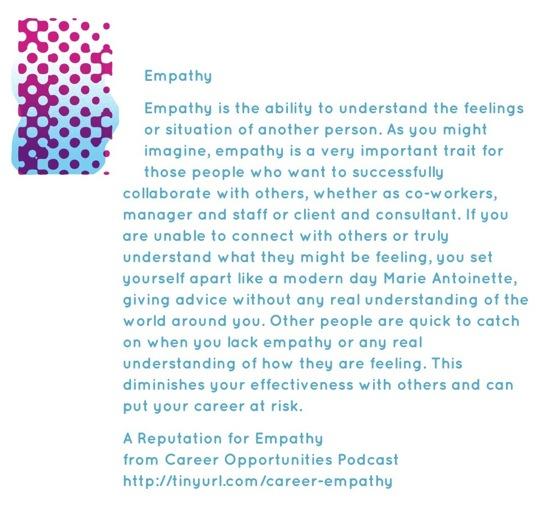 Empathy...