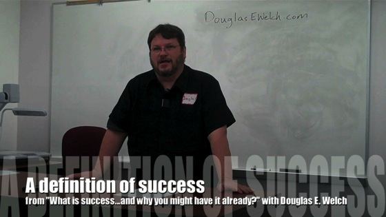 Video: A definition of success from