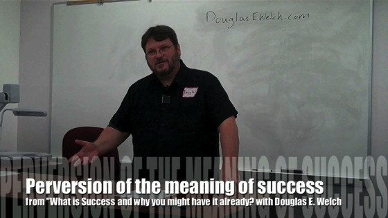 Video: Perversion of the meaning of success from