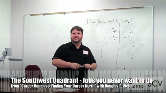 Video: The Southwest Quadrant - Jobs you never want to do from Career Compass: Finding Your Career North