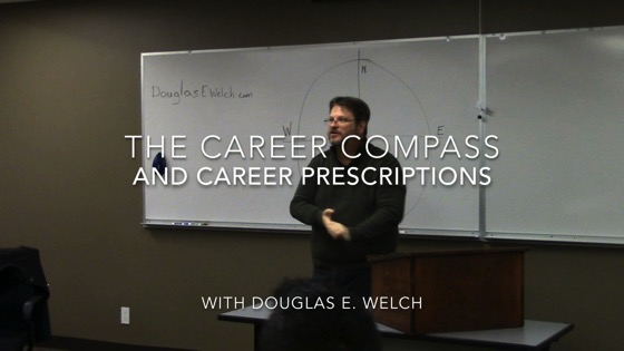 Using the Career Compass to Find Your Work and Career with Douglas E. Welch