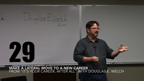 Make a Lateral Move to a New Career from