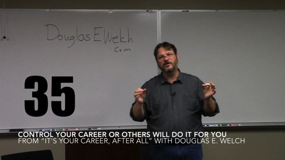 Control Your Career or OThers Will Do It For You from