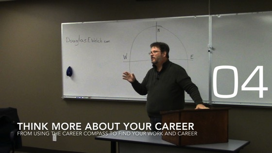 Think more about your career from Using the Career Compass to Find Your Work and Career