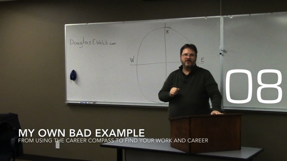 My Own Bad Example from Using the Career Compass to Find Your Work and Career