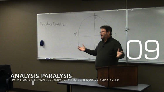 Analysis Paralysis from Using the Career Compass to Find Your Work and Career