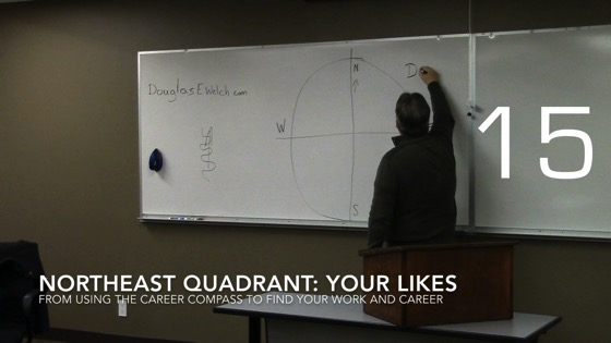 Northeast Quadrant: Your Likes from Using the Career Compass to Find Your Work and Career