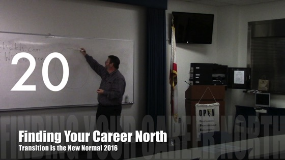 Finding Your Career North from Transition is the New Normal 2016