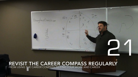 Revisit the Career Compass Regularly from Using the Career Compass to Find Your Work and Career