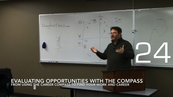 Evaluating Opportunities with the Compass from Using the Career Compass to Find Your Work and Career