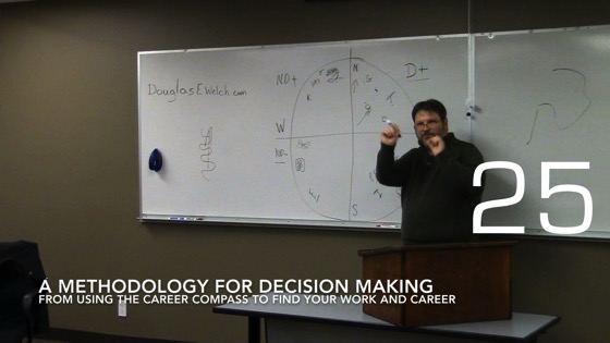 A Methodology For Decision Making from Using the Career Compass to Find Your Work and Career