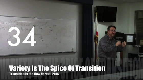 Variety Is The Spice of Transition from Transition is the New Normal 2016