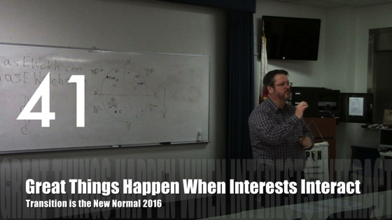 Great Things Happen When Interests Interact from Transition is the New Normal 2016