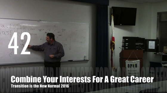 Combine Your Interests for A Great Career from Transition is the New Normal