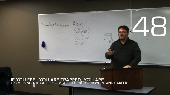 If You Feel You Are Trapped, You Are  from Using the Career Compass To Find Your Work and Career