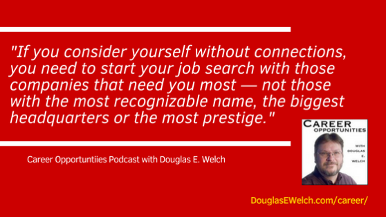 Go where you are most needed from the Career Opportunities Podcast [Audio]