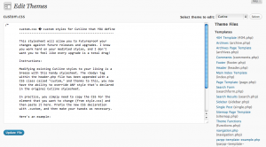 wp-theme-editor